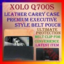 ACM-BELT CASE for XOLO Q700S MOBILE LEATHER CARRY POUCH COVER HOLDER CLIP LATEST