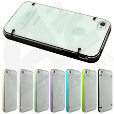 New Ultra Thin Clear Slim Hard Bumper Frame Case Cover for iPhone 5C 5S 5G 4S 4