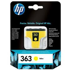 HEWLETT PACKARD HP 363 ORIGINAL YELLOW PHOTOSMART PRINTER INK CARTRIDGE - C8773E