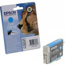 EPSON STYLUS CYAN (BLUE) SINGLE PRINTER INK CARTRIDGE - T0712 (C13T07124011)