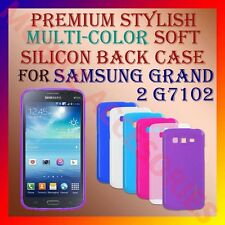 ACM-PREMIUM MULTI-COLOR SOFT SILICON BACK CASE for SAMSUNG GRAND 2 G7102 COVER