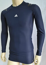 Adidas Techfit Powerweb L/S Dark Navy Tee  (W64889) Base Layer Sz L,XL