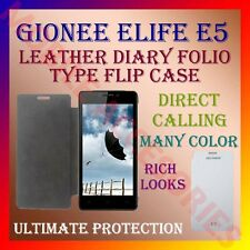 ACM-LEATHER DIARY FOLIO FLIP CASE for GIONEE ELIFE E5 MOBILE FRONT & BACK COVER