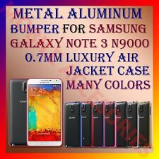ACM-ALUMINUM BUMPER METAL CASE for SAMSUNG NOTE 3 N9000 0.7MM AIR JACKET FRAME