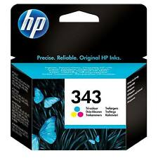 GENUINE OEM HP HEWLETT PACKARD COLOUR INK CARTRIDGE HP 343 (C8766EE / C8766E)