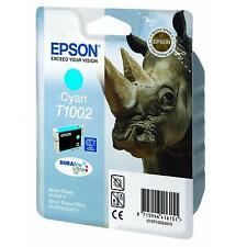 GENUINE EPSON RHINO SERIES CYAN DURABRITE INK CARTRIDGE T1002 (C13T10024010)