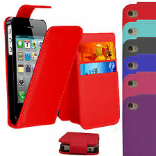 NEW PU LEATHER WALLET FLIP CASE AND BOOK WALLET CASE COVER FOR iPhone 4S