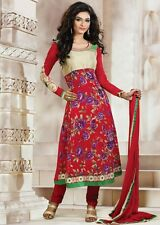 DESIGNER ANARKALI SALWAR KAMEEZ DUPATTA INDIAN PAKISTANI  SUIT DRESS - NEW 2015