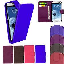 NEW PU LEATHER WALLET FLIP CASE COVER FOR SAMSUNG GALAXY S3 / SIII (i9300)