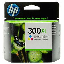 GENUINE HP HEWLETT PACKARD COLOUR INK CARTRIDGE HP 300XL CC644EE 440 PAGE YIELD
