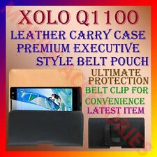 ACM-BELT CASE for XOLO Q1100 MOBILE LEATHER CARRY POUCH COVER CLIP HOLDER LATEST