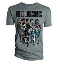 THE ROLLING STONES - SILHOUETTE COLLAGE - OFFICIAL MENS T SHIRT