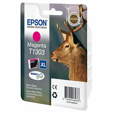 GENUINE EPSON STAG SERIES MAGENTA HIGH CAPACITY INK CARTRIDGE C13T13034010 T1303