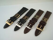 Watch Strap - Luxury Leather - Extra Long - Multple Sizes & Colours