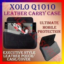 ACM-HORIZONTAL LEATHER CARRY CASE for XOLO Q1010 MOBILE POUCH COVER HOLDER NEW