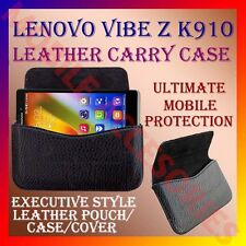 ACM-HORIZONTAL LEATHER CARRY CASE for LENOVO VIBE Z K910 MOBILE POUCH COVER CASE