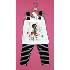 ✿MINOTI✿ Legging & Tunika Shirt PARIS for little Miss 80 86 92 98 104 NEU✿