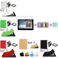 HOUSSE SMART COVER COMPATIBLE  IPAD 2/3/4  COQUE ARRIERE /STYLET+FILM+CHIFFON