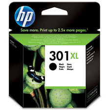 GENUINE HP HEWLETT PACKARD BLACK HP 301XL (CH563EE) HIGH CAPACITY INK CARTRIDGE