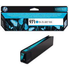 GENUINE HP HEWLETT PACKARD OFFICEJET PRO HP 971 CYAN INK CARTRIDGE (CN622AE)