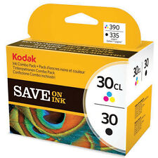 GENUINE OEM KODAK 30 / 30B BLACK & 30CL COLOUR PRINTER INK CARTRIDGE MULTI PACK