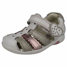 Girls Clarks First Sandals Closed Toe 'Softly Palm'