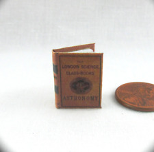 ASTRONOMY TEXTBOOK Miniature Book Dollhouse 1:12 Scale Readable Illustrated Book