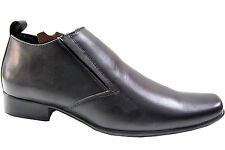 BOGGY  BRANDED LEATHER MID LONG  SHOE IN BLACK COLORS MPR 3495 50% DISCOUNT 1745