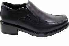 LEE COOPER BRANDED LEATHER SHOE IN BLACK COLORS MRP 2099 10% DISCOUNT 1890