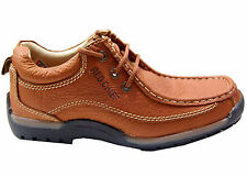 RED CHIEF BRANDED SHOE IN ELEPHANT TAN COLOUR NON POLISHABLE CASUAL WEAR SHOE