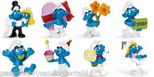 SCHLEICH SMURFS SPECIAL OCCASSIONS - Choice of 8 different Smurf Figures
