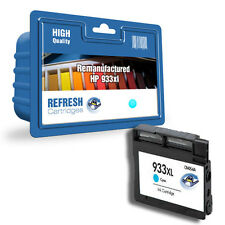 REMANUFACTURED HEWLETT PACKARD HP 933XL CYAN HIGH CAPACITY SINGLE INK CARTRIDGE