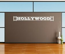 Hollywood Kino Wandtattoo Wandaufkleber Kamera Wand Sticker Film Aufkleber 5S053