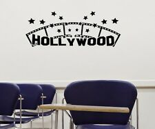 Hollywood Kino Wandtattoo Wandaufkleber Kamera Wand Sticker Film Aufkleber 5S051
