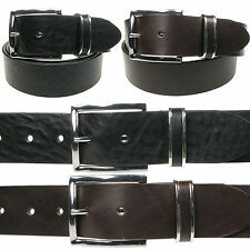 Vitali Full Grain 40mm Mens Italian Leather Jeans Belt Made in Italy 3903
