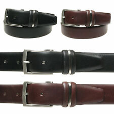 Vitali Quality Mens Italian Leather Trouser Suit Belt 35mm Made in Italy 3916