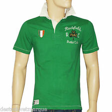 RUCKFIELD CHABAL Polo rugby manches courtes vert  homme taille S