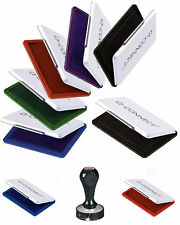Q CONNECT INK PAD RUBBER STAMP ENDORSING: INK COLOURS BLACK, RED, BLUE or GREEN