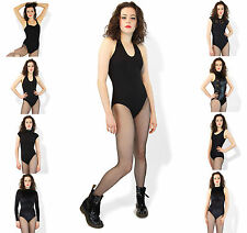 Leotard Dance Ballet Gym Leotards Black Cotton Lycra 10 Designs To Choose