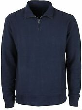 MENS BRAND NEW FRENCH CONNECTION TOP FLEECE 57BCB MARINE BLUE COLOUR ALL SIZES