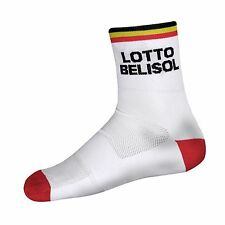 Team Lotto Belisol by Vermarc Paia calze calzini ciclismo cycling socks