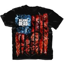 "The Walking Dead - Herren TV Serien T-Shirt ""American Gore"" Schwarz"