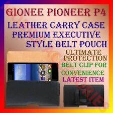 ACM-BELT CASE for GIONEE PIONEER P4 MOBILE LEATHER CARRY POUCH PREMIUM COVER
