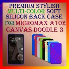 ACM-PREMIUM RICH SOFT SILICON BACK CASE for MICROMAX A102 CANVAS DOODLE 3 COVER