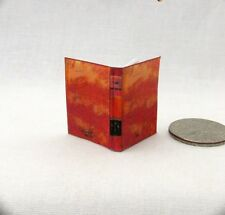 A LAW DICTIONARY Dollhouse Miniature Book 1:12 Scale Readable Book