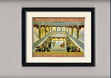 circus advertising Posters and framed pictures
