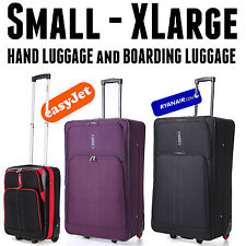 Lightweight Luggage Large Medium Small Cabin Travel Trolley Suitcase Bag Case