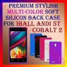 ACM-PREMIUM MULTI-COLOR SOFT SILICON BACK CASE for IBALL ANDI 5T COBALT 2 COVER