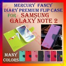 ACM-MERCURY PREMIUM DIARY FLIP CASE for SAMSUNG GALAXY NOTE 2 N7100 WALLET COVER