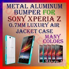 ACM-ALUMINUM BUMPER METAL CASE for SONY XPERIA Z L36H MOBILE AIR JACKET FRAME